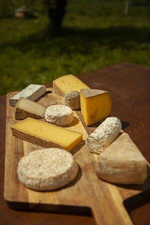 Plateau de fromages du pays de Redon
