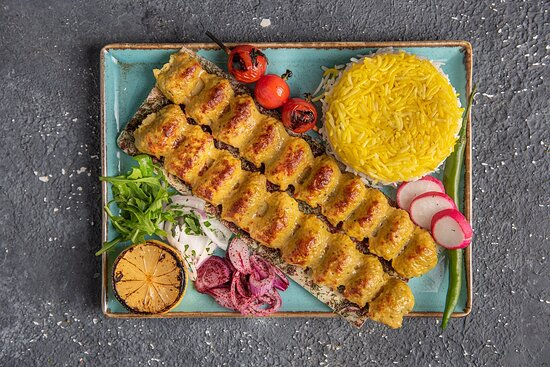 Chelo Kebab-E-Koobideh (Chicken)