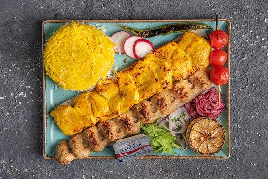 Chelo Kebab Vaziri
