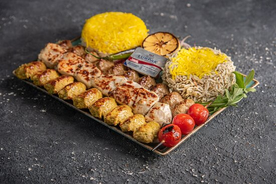 Mix Kebab Platter for one