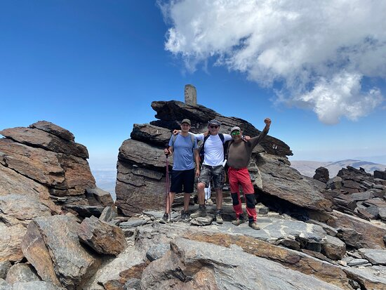 Summit of the Mulhacén