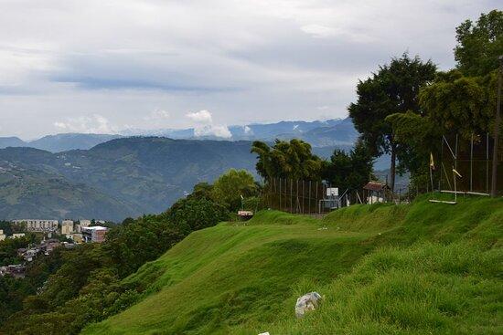 Manizales, Kolombia: Высокогород.