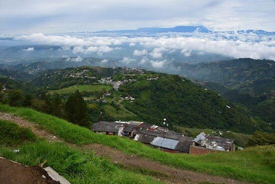 Manizales, Colômbia: Облачное море.