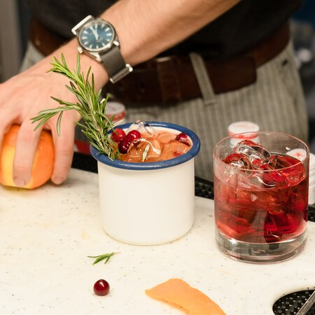 Carina's Moscow Mule and Negroni