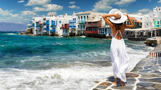Mykonos is one of the most famous of the beautiful Greek islands. It is also one of the most popular vacation destinations in all of Greece, and as such is visited by thousands of people from all over the world each and every summer.