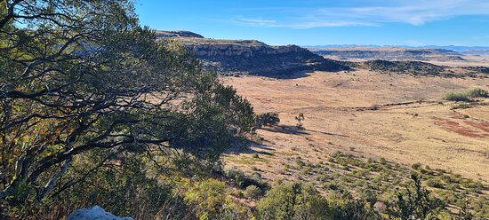 Ficksburg, África do Sul: Nature trails in Dal Tempe Nature Reserve