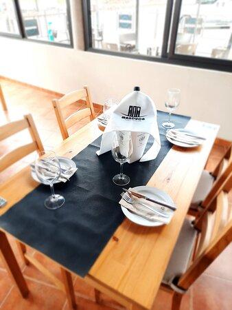 Mesa con reserva