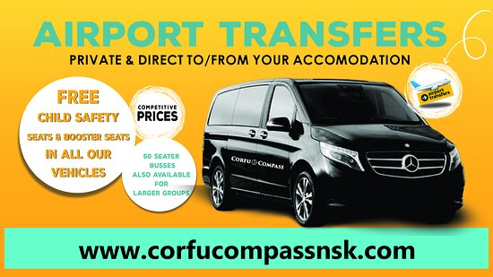 airport transfers, private & direct to/from your accomodation