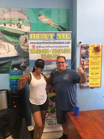 Dante is amazing @ Beachfront rentals