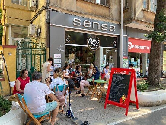 Varna, Bulgaria: Coffee shop Sense