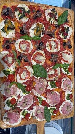 Pizza in aperitivo