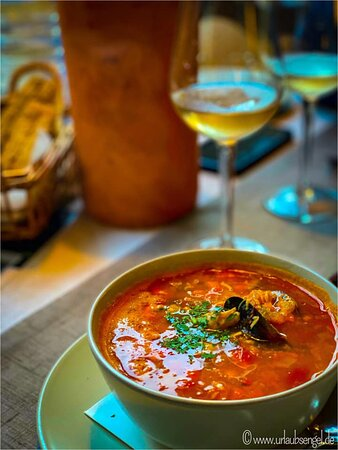 Our beautiful fisherman's soup