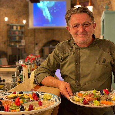 Giovanni Trombatore, lo chef di Anche Gli Angeli