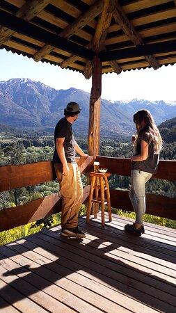 Epuyen, Argentina: El deck