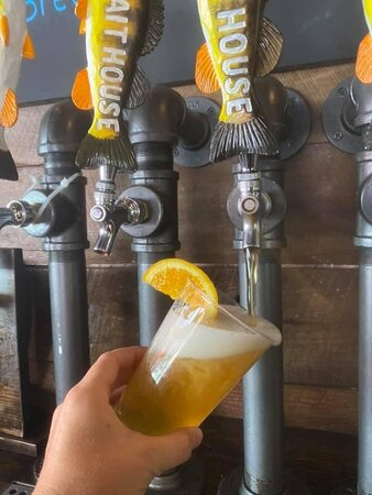 Our summer favorite, the Big Splash wheat beer! On tap now!