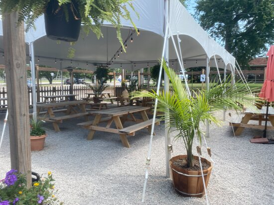 The Bait House Brewery Beer Garden