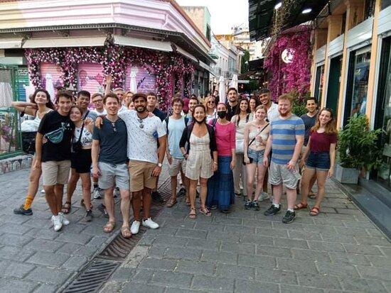Athens Free Tour - Website link on our Tripadvisor page.