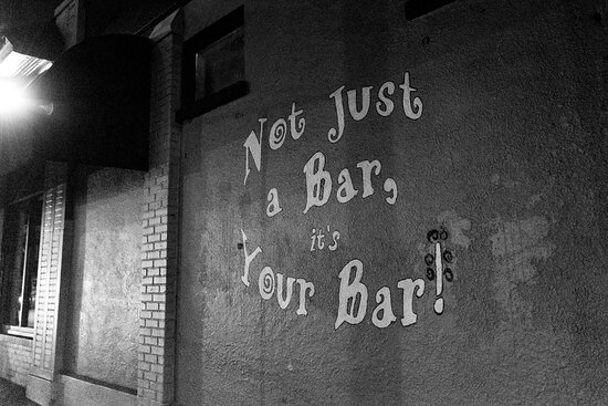 We are not just a bar!  We are your bar!