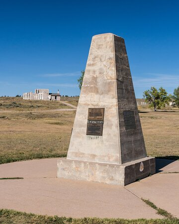 Memorial to Fort Laramie and the Transcontinental Telegraph