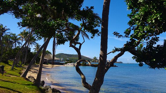 ╭♠◻ Rocher à la Voile beach area ◻♠╮Anse Vata bay 🔹🔹