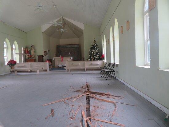1899 Historic Sacred Heart Catholic Church, Menard, TX, May 2021
