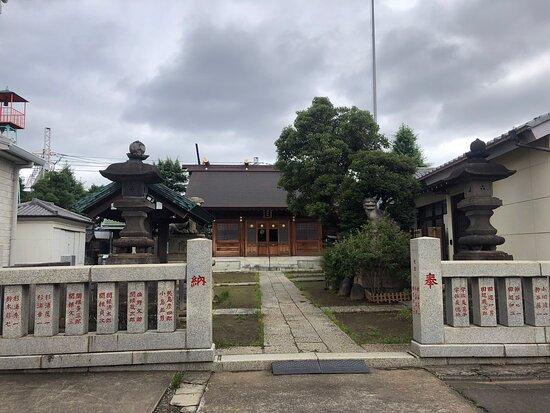 最強の三大神を祀る神社