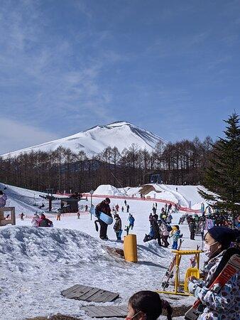 雪質は硬いため、スキーヤー向けかもしれない