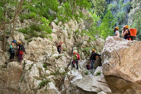 Canyoning of Codula Fuili in Cala Gonone