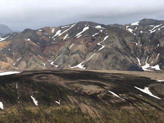 View from Brennisteinsalda