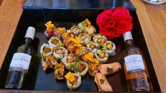 Sushi kadobox