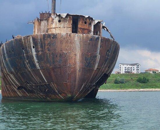 #shipwreck #view #blackseaview #costinesti