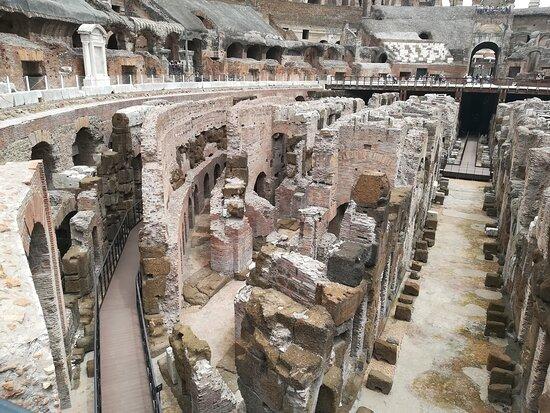 Coliseo: Underground area