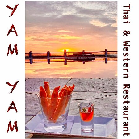 Giaw Tod (lumpia cheese)  YAM YAM Restaurant Jepara is Open Everyday!!!!!! Nonstop. Special info during Covid period the Open hours will be from 8:00-21:00 ( last order 20:15, last order for take away until 20:45)  See you... Kiss (from faraway) All staff YAM YAM 😘