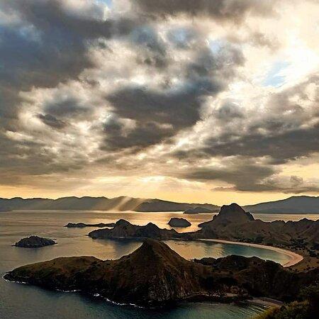 Sunset at Padar Island