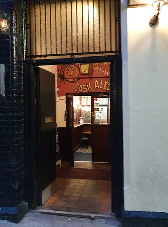 The Ye Hole In Ye Wall Pub in Liverpool Commercial District