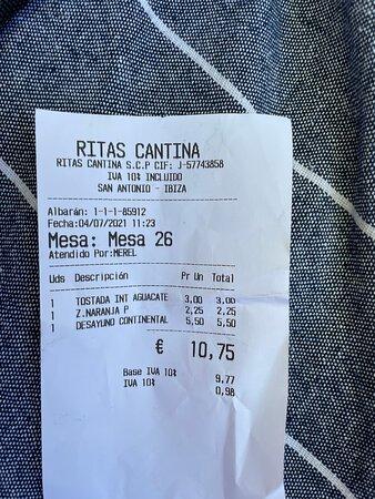MURAL INTERIOR  - Picture of Rita's Cantina, Ibiza - Tripadvisor