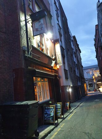 The Poste House Pub in Liverpool Buisness District