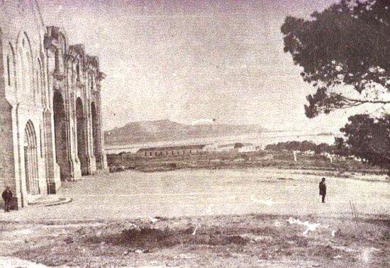 Cagliari, Italia: Foto prima della costruzione del Santuario