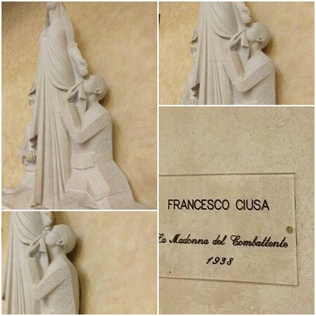 Cagliari, Italia: Bellissima Madonna realizzata dall'artista Francesco Ciusa