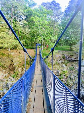 the bridge itself is quite picturesque