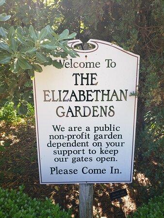 Manteo, Βόρεια Καρολίνα: Elizabeth Gardens