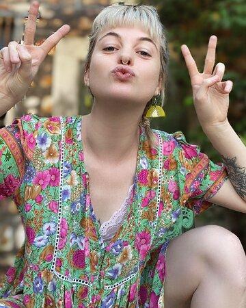 Casuarina Dress in Gypsy Green
