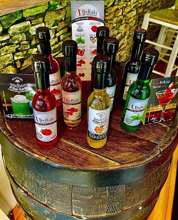 Don't miss the opportunity to try our exclusive Cretan Raki with flavors!