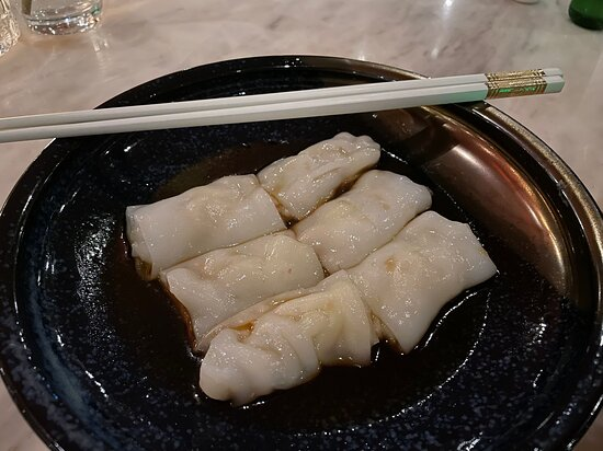 Scallop and Asparagus Cheung Fan