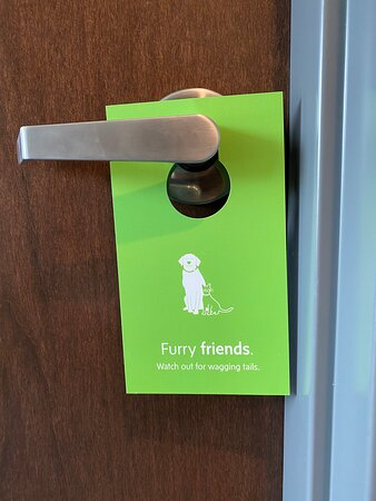 pet policy - tag for door