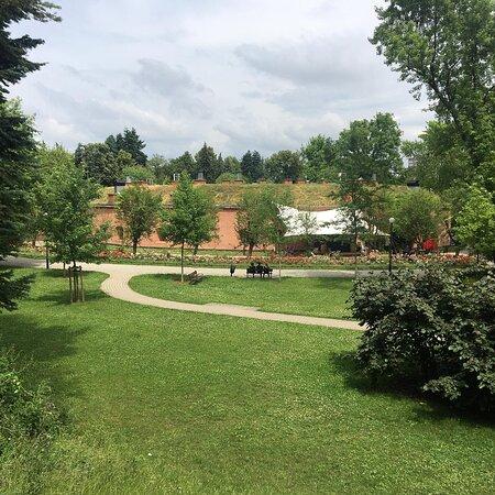 Zeromskiego Park Warsaw
