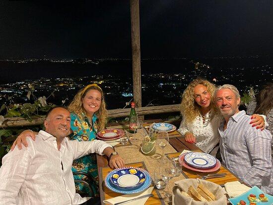Cena con panorama mozzafiato
