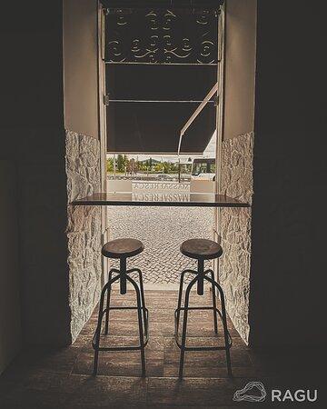 Balcão á janela