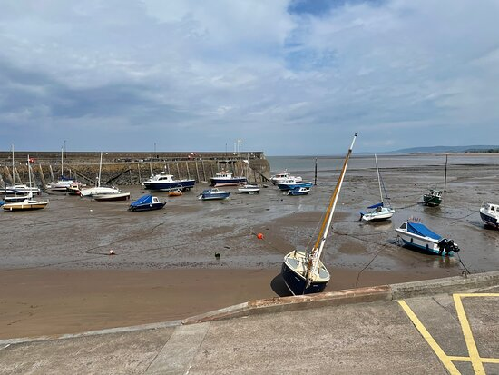 Minehead lifeboat station & harbour