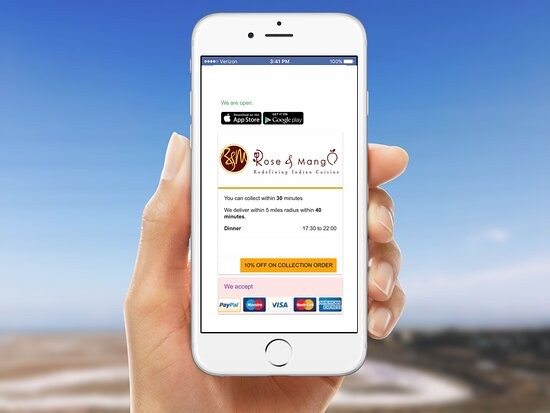 Have you downloaded our app? Available on IOS and android now. A faster way to order and enjoy a traditional Kerala curry.  Please book online or call on 01638663300. Thanks WEB : https://roseandmango.com/ We do collection and delivery Order Online :- https://www.roseandmangonewmarket.co.uk/menu.aspx #newmarket #suffolk #indian #curry